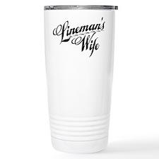linemans wife black Travel Mug