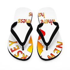 NEWJERSEY Flip Flops
