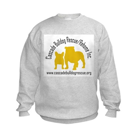 F & B Yellow Logo Kids Sweatshirt