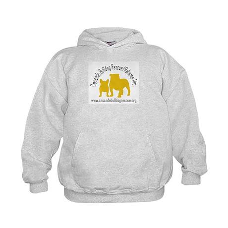 F & B Yellow Logo Kids Hoodie