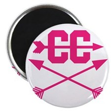 cross-country-arrows-pink Magnet
