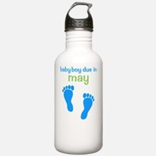 bluefeet_babyblueduein Water Bottle