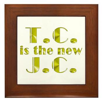 T.C. is the new J.C. Framed Tile