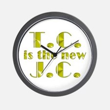 T.C. is the new J.C. Wall Clock