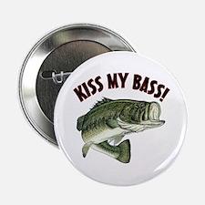 """Kiss My Bass 2.25"""" Button"""