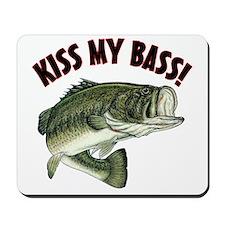Kiss My Bass Mousepad