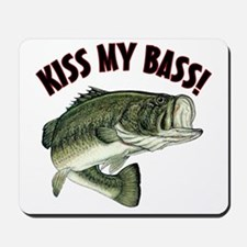 Kiss My Bass Mousepad