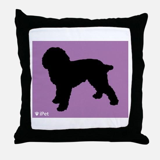 Cockapoo iPet Throw Pillow