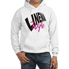 lineman wife button Hoodie