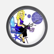 julie Wall Clock