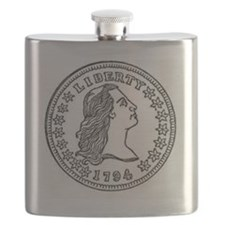 liberty coin 1794 Flask