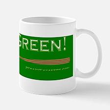 GoingGreenBSBG Mug