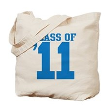 class-2011-blue Tote Bag