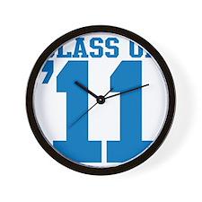 class-2011-blue Wall Clock