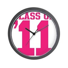 class-2011 Wall Clock