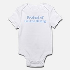 Product of Online Dating Infant Bodysuit