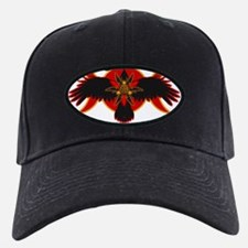 Crow Triple Goddess - Fire Baseball Cap