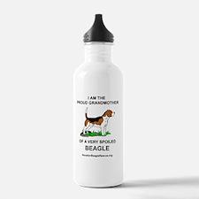 13beaglegrandmother Water Bottle