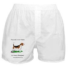 14beagletoomany Boxer Shorts