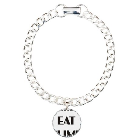 sleep eat climb 1 Charm Bracelet, One Charm