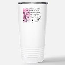 pink Stainless Steel Travel Mug