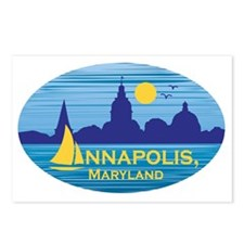 Annapolis, Maryland stick Postcards (Package of 8)