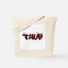 "Graffiti Style ""Thug"" Design Tote Bag"