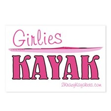 girlieskayakmagnet Postcards (Package of 8)