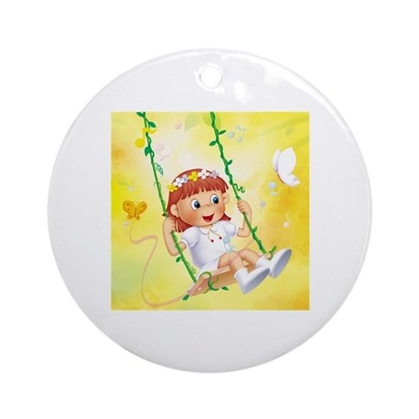 Swing Ornament (Round)