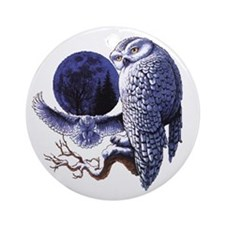 Night Owl Ornament (Round)