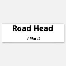 I like it Bumper Car Car Sticker