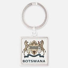Vintage2Botswana2 Square Keychain
