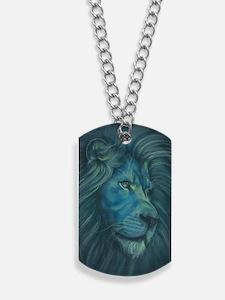 Divine Lion Dog Tags