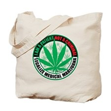 Patient-not-Criminal-2009 Tote Bag