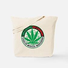 Patient-not-Criminal-2009 Tote Bag