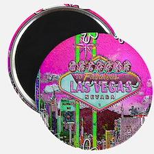 Las Vegas - Hot Pink! Magnet