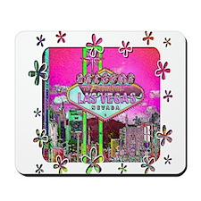 Las Vegas - Hot Pink! Mousepad