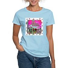 Las Vegas - Hot Pink! Women's Pink T-Shirt