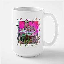 Las Vegas - Hot Pink! Large Mug