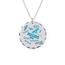 Dream steno - blue Necklace