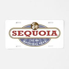 Sequoia National Park Aluminum License Plate