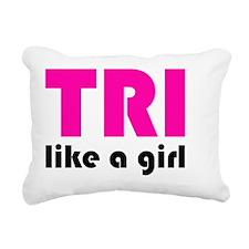 tri2 Rectangular Canvas Pillow