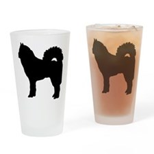 dog_eurasier Drinking Glass