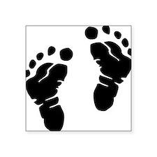 "baby_feet_2010_2 Square Sticker 3"" x 3"""