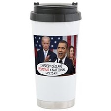 obama_speaking Travel Mug