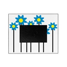 flowerfamily_blue Picture Frame