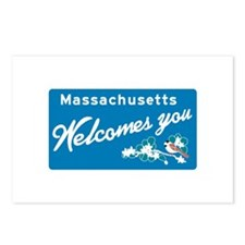 Welcome to Massachusetts - USA Postcards (Package