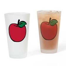 apple_3c Drinking Glass