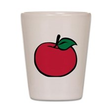 apple_3c Shot Glass