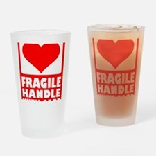 fragile_with_care Drinking Glass